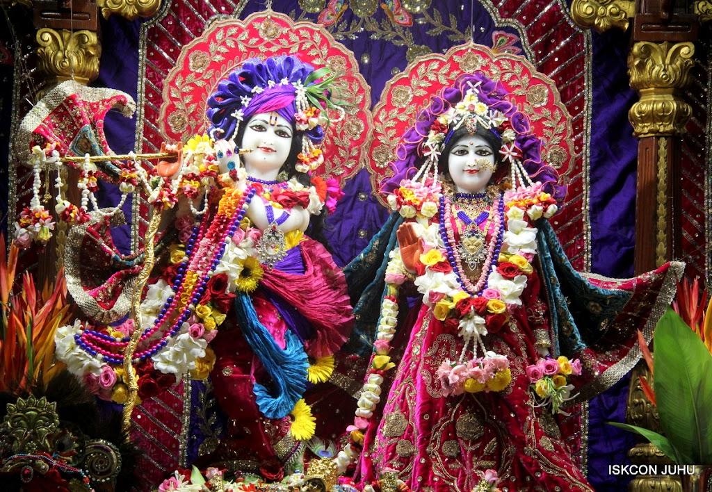 ISKCON Juhu Sringar Deity Darshan on 10th July 2016 (6)