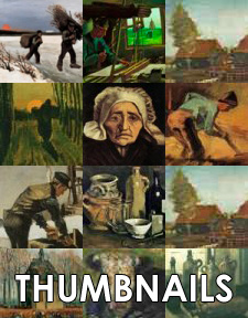 Thumbnail Image Grid Makes Seeing Thumbnail Images Of All Vincent van Gogh Paintings Easy