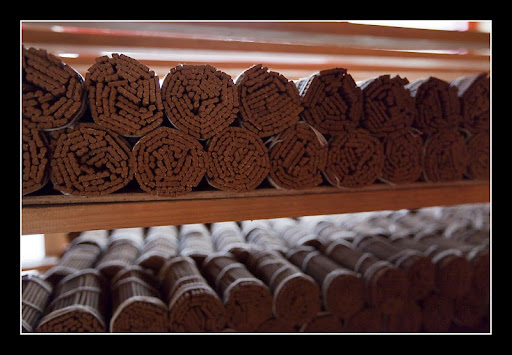 Incense made by nuns at Khachoe Ghakyil Nunnery, Nepal. Photo courtesy Khachoe Ghakyil.