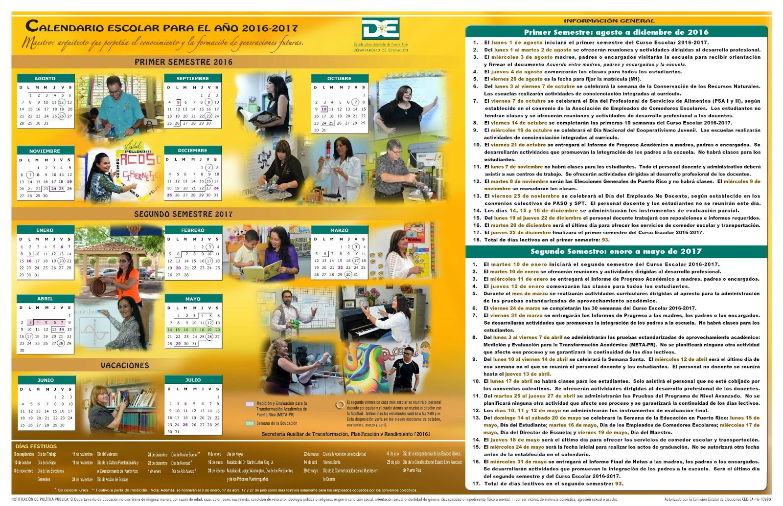Almanaque 2012 para imprimir con foto 12
