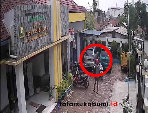 Maling Motor Terekam CCTV, Dalam Hitungan Detik Maling Beraksi di Sukaraja