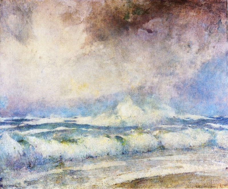 Emil Carlsen - Meeting of the Seas