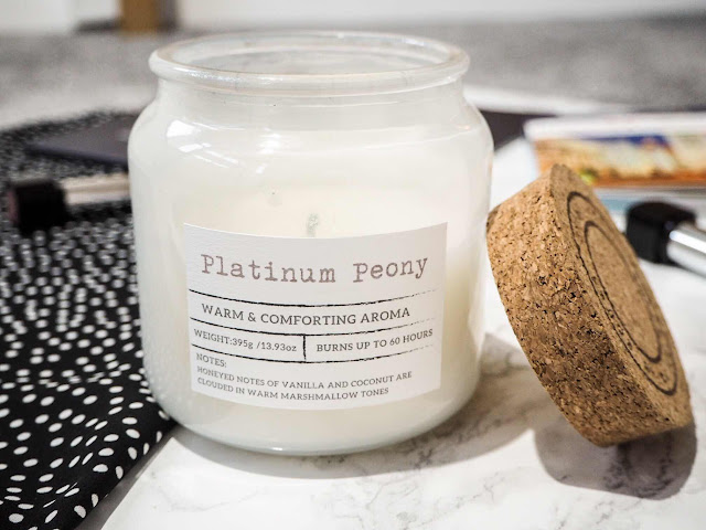monthly-favourites-lifestyle-blog-homeware-primark-haul-platinum-peony-candle