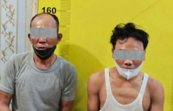Miliki  Shabu Seberat 101,15 gram,  Dua  Sekawan  Berhasil  Dibekuk Satres  Narkoba  Polres   Asahan