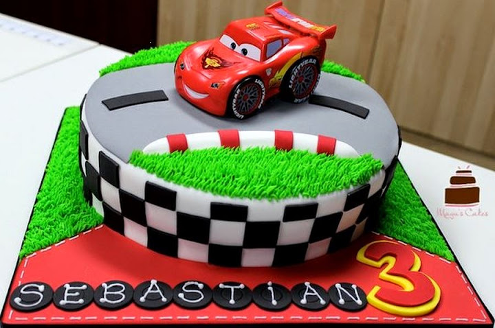 Cake Design Cars : 50 Best Cars Birthday Cakes Ideas And Designs - iBirthdayCake