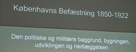 Photo: Historien om Københavns Befæstning begyndte med en hovedstad i flammer og et nederlag, der synliggjorde behovet for at kunne for¬svare hoved-staden i fremtiden. Fra slutningen af 1800-tallet og frem til 1918 blev der anlagt et avanceret forsvarsværk rundt om byen.