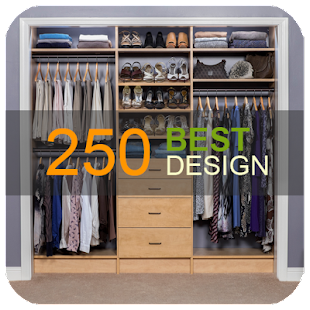 250 Small Closet Organisers - náhled