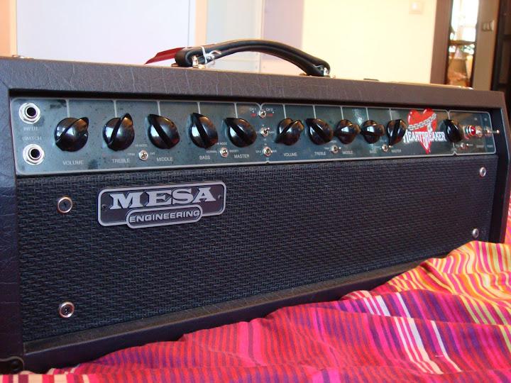 Mesa Heartbreaker head 1996