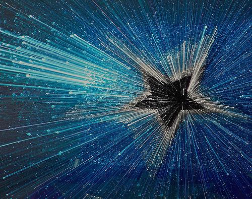 blue star texture