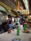 Moles at Mercado Benito Juarez in Oaxaca