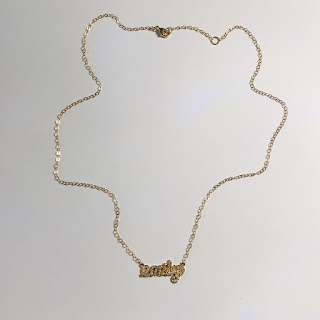 14K Gold and Diamond 'Emily' Necklace
