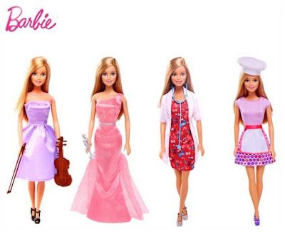 Bộ sưu tập Barbie thời trang nghề nghiệp CLF99