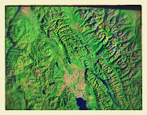 Maps of northern Idaho and western Montana (Landsat7)