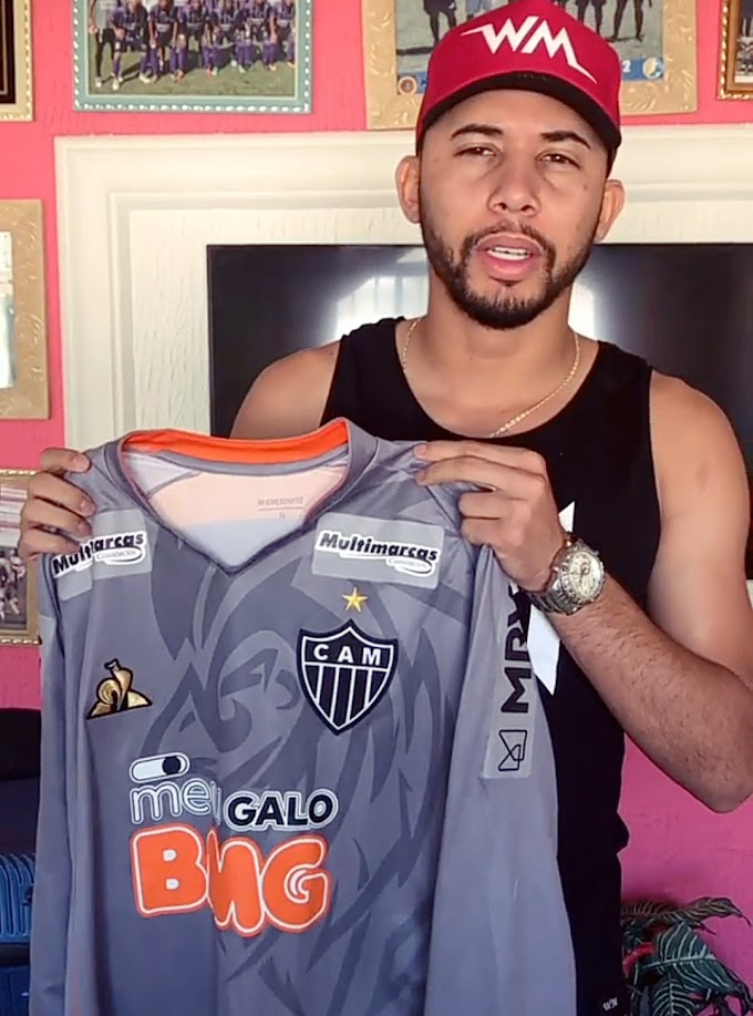 Goleiro do Afogados, Wallef Mendes, leiloa camisa do Atlético para arrecadar cestas básicas