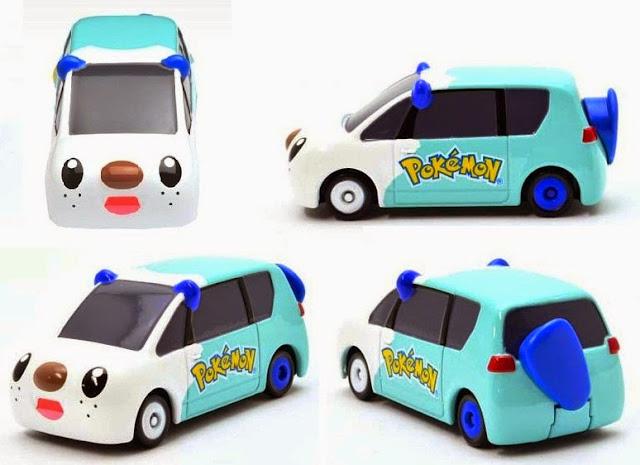 Mô hình xe ô tô Dream Tomica 145 Pokemon Mijumaru Car thật sinh động và đẹp mắt