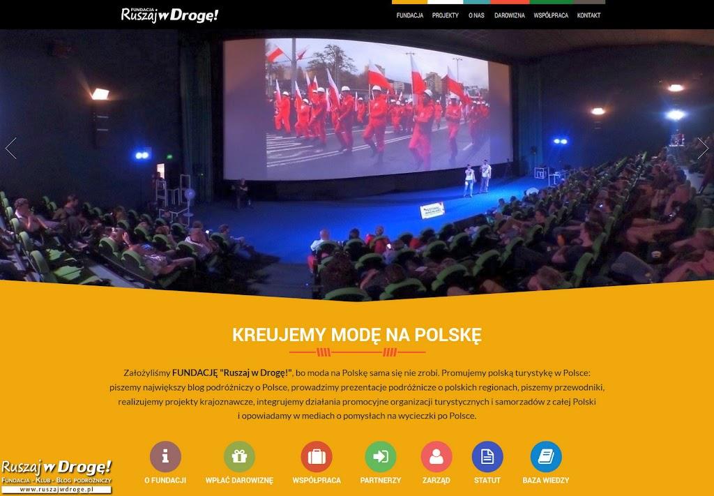Fundacja dla polskiej turystyki - strona Fundacji Ruszaj w Drogę!