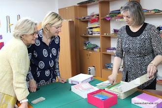 Photo: Centre Al Farah, avec Diana, sa directrice