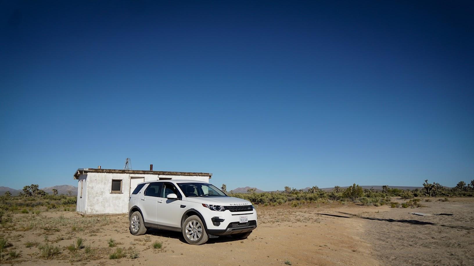 Mojave Desert Land Rover