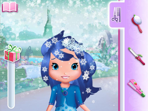 Strawberry Shortcake Holiday Hair - screenshot