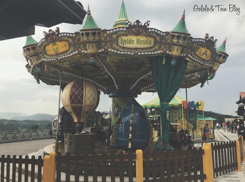 Atracciones en el Monte Igueldo de Donostia