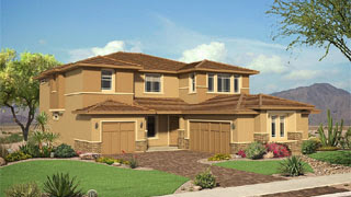 Starwood floor plan The Estates at Morrison Ranch by Pulte Homes