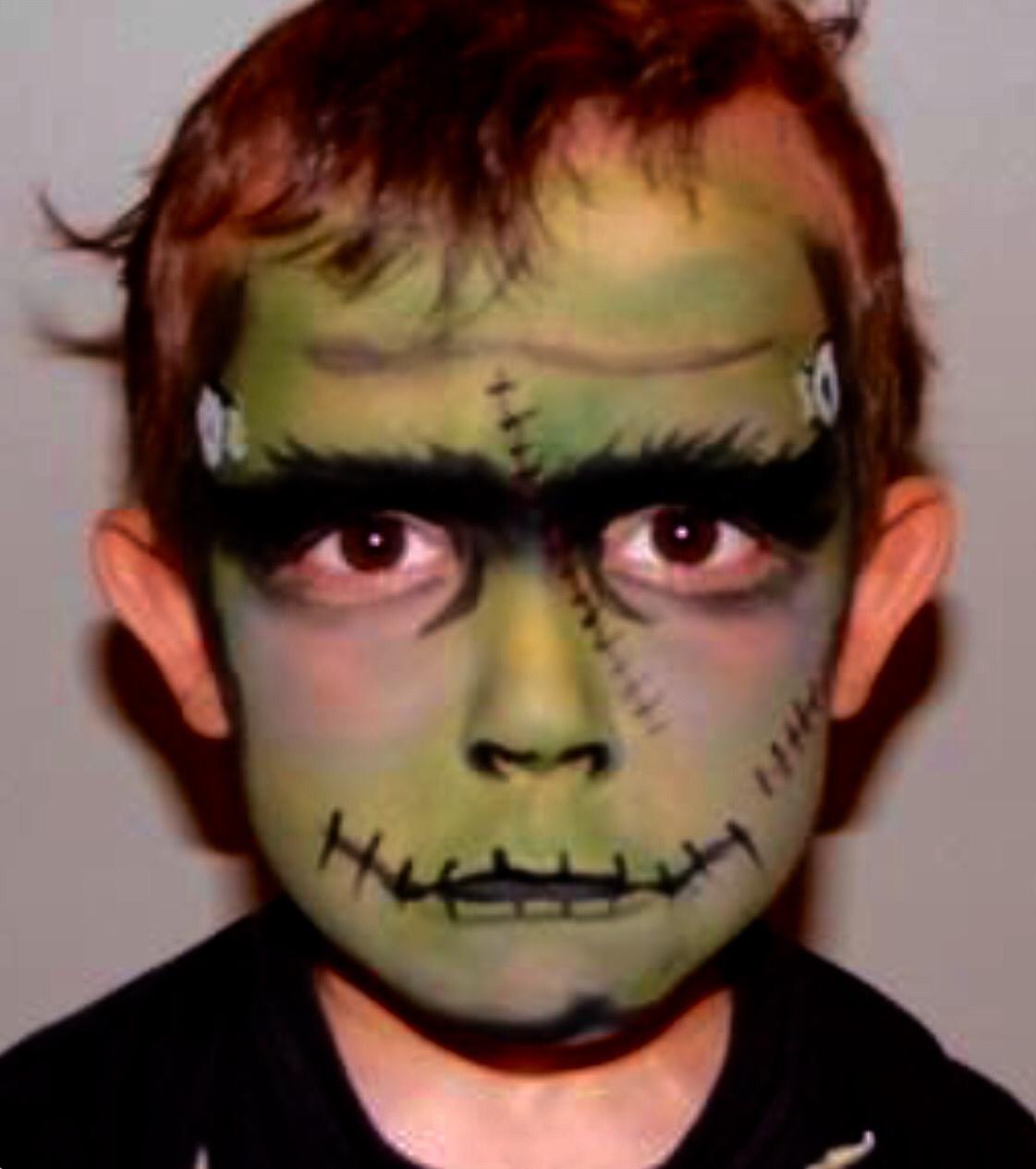 Ideas de maquillaje infantil para halloween gololo y - Pinturas para halloween ...