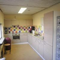 Renovatie toiletgroepen,keuken en buitenberging