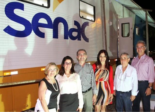 Carreta do Senac oferece cursos profissionalizantes em Canguaretama