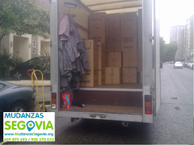 Transportes Calabazas de Fuentidueña Segovia