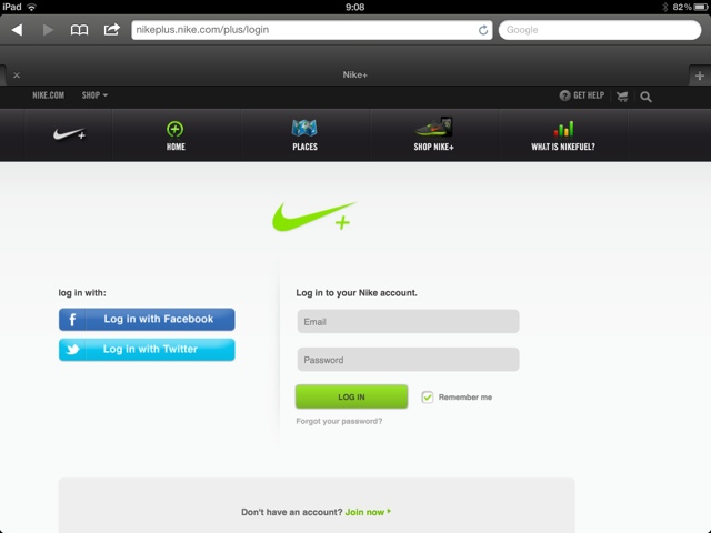 How To Nike: Why Can't I log Into The New Nike+ Website