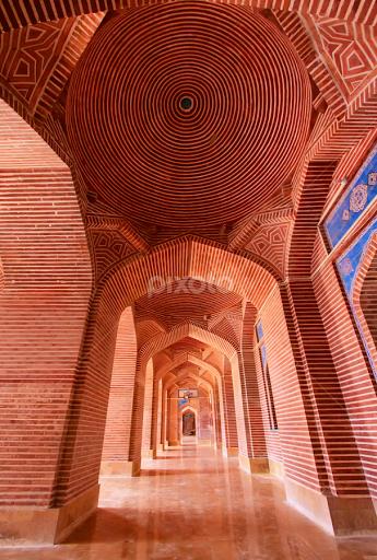 Shahjahan Mosque, Thatta, Pakistan   Architectural Detail