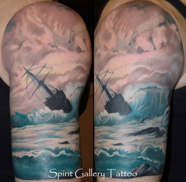 Wave-Tattoo-Dsign-12