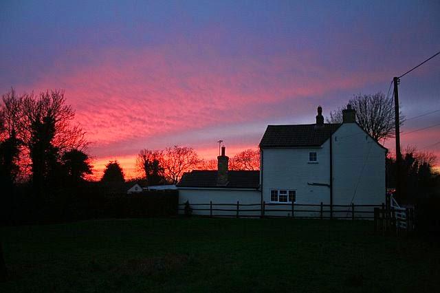 Sunset Over Woodhurst - Christmas Day 2007 - 9831588510233_0_BG.jpg