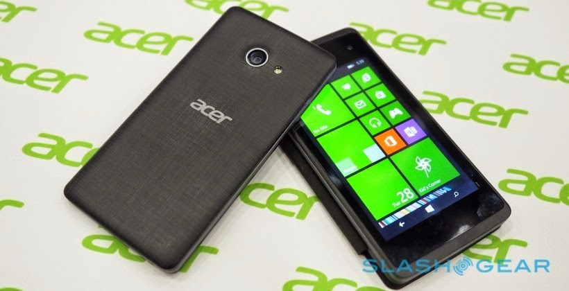 Acer Liquid M220 chạy Windows Phone 8.1, giá 80 USD