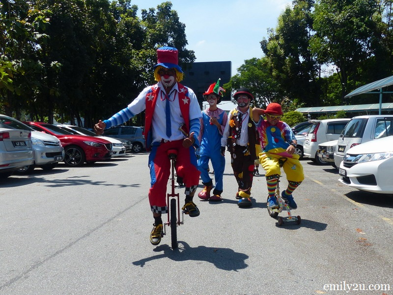 First Perak Clown Gathering to Celebrate Chinese New Year 2016