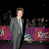 WWW.ENTSIMAGES.COM -  Tyler James arriving  at  Cirque Du Soleil: Kooza VIP Royal Albert Hall London January 8th 2013                                                       Photo Mobis Photos/OIC 0203 174 1069
