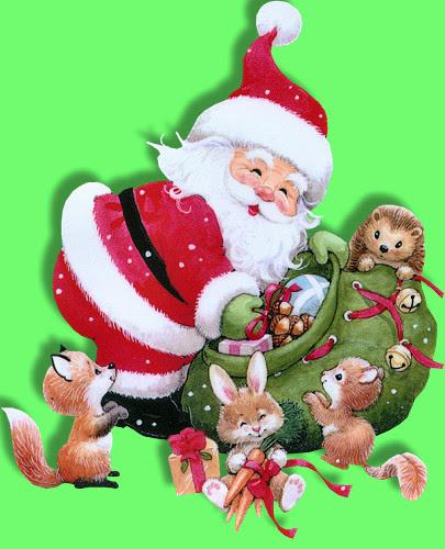 Santa~N~GiftsFriends.jpg