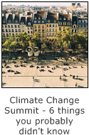 the climate change summit - 6 things you probably didn't know