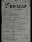 illegal newspaper announcing the Swedish aid during the hunger winter in Holland.