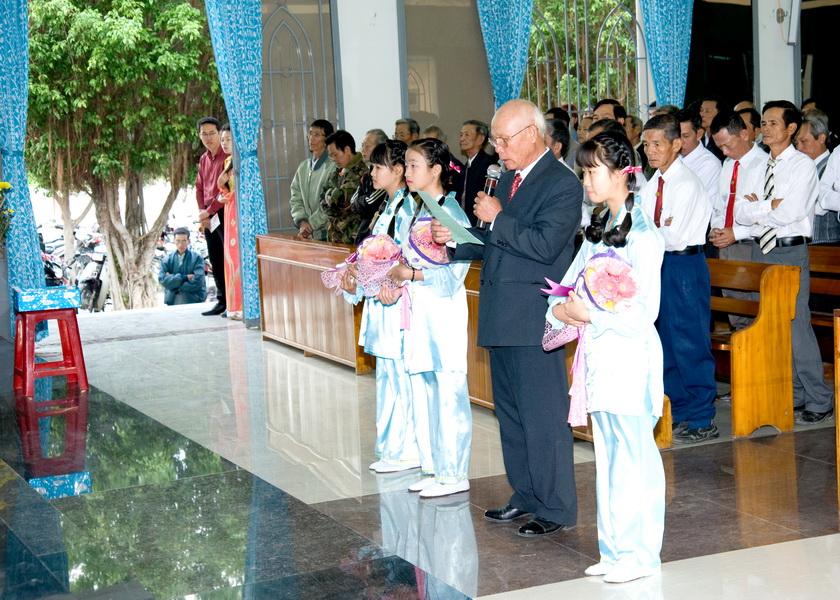 Hình ảnh thánh lễ mừng xuân Bính Thân tại giáo xứ Phú Phong