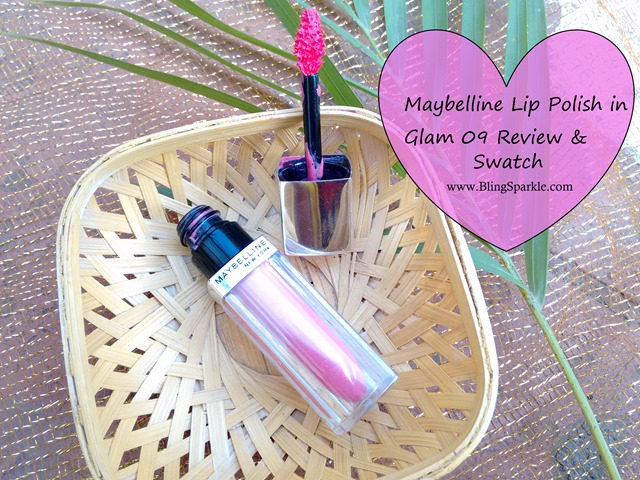 Maybelline Lip Polish in Glam 09 Review & Swatch
