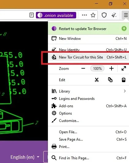 يسرع Tor حلبة Tor جديدة للموقع