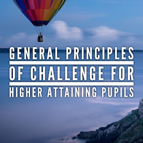 General Principles Of Challenge For Higher Prior Attaining Pupils