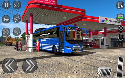 City Coach Bus Driving Sim : Bus Games 2020 screenshots 3