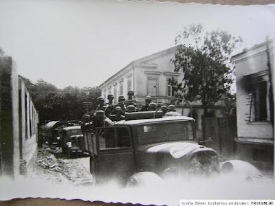 1941. g. 23. jūnijs. Vācu vienības dodas Liepājas virzienā.
