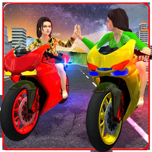 模擬App|Girls Biker Gang 3D LOGO-3C達人阿輝的APP