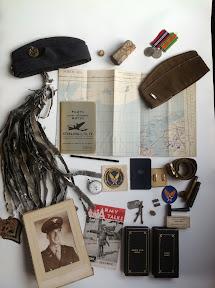 Diverse materialen van de Britse en Amerikaanse luchtmacht.