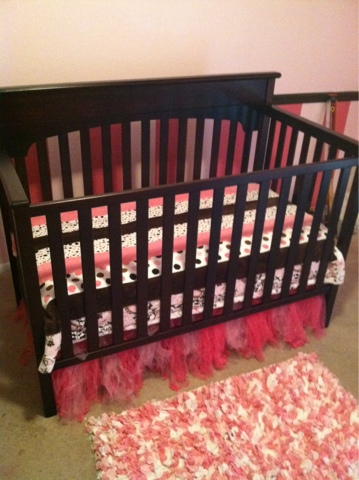 Tutu cute crib skirt