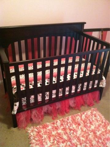 Tutu cute crib skirt