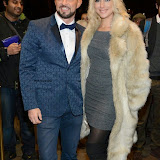 WWW.ENTSIMAGES.COM -   Robin Windsor and Ali Bastian  arriving    at Dance Til Dawn - press night   Aldwych Theatre, London November 3rd 2014Strictly Come Dancing duo Flavia Cacace-Mistry and Vincent Simone  bring their new show inspired by the Golden Age of Hollywood to the West End for a limited ten week run.                                                    Photo Mobis Photos/OIC 0203 174 1069